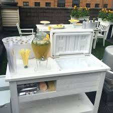Beach bar ideas beach cottage Pinterest Outdoor Bar Cart Cooler Bridal Shower Wedding Gift Beach Cottage Ideas Fivemileskateboardscom Outdoor Bar Cart Cooler Bridal Shower Wedding Gift Beach Cottage