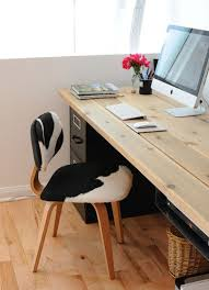 Diy fitted home office furniture Cute Homedit 20 Diy Desks That Really Work For Your Home Office