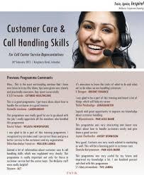 Customer Handling Skills Magdalene Project Org