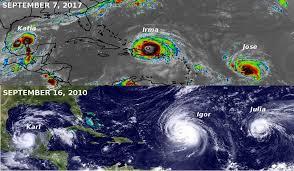 Resultado de imagem para sequência de furacões