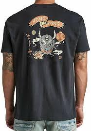 Roark Hong Kong Devil T Shirt Black Soft Cotton Spun Tee