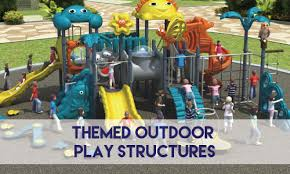 themed outdoor play structures