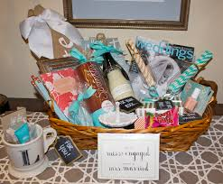part of her surprise was this engagement basket i put together to congratulate her it is the perfect diy gift for a sister f cousin and especially if