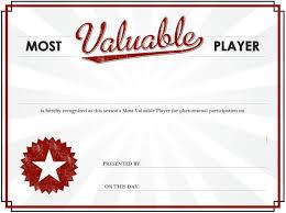 Mvp Certificate Blank Template Imgflip