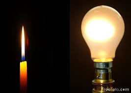 Candle Vs Light Bulb M Bioservices On Candles And Light Bulbs