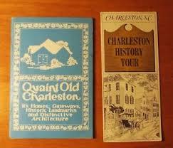 Old Brochures 2 Vintage Charleston Sc Brochures Quaint Old Charleston History
