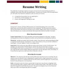 Resume Objective Examples Hotel Jobs | Resume For Study