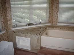 tile bathtub surround with window ideas