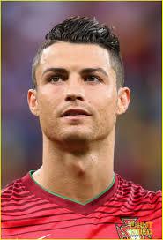 Ronaldo Hair Style injured cristiano ronaldo takes the field for portugal vs usa 6359 by stevesalt.us