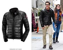 Glee s Darren Criss looking fabulous in the Canada Goose Hybridge Lite  Jacket- BUY IT NOW