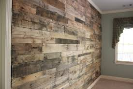 pallet wood wall. light wood reclaimed pallet wall
