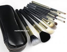 mac brushes. new mac brush set hollywood of 2012! limited - 12 pcs $49.95 mac brushes