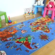 round kid rugs educational fun colourful world map countries oceans kids ikea canada nursery antique rug