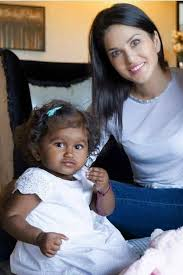 baby who was adopted by sunny leone was turned down by 11 couples before she found a home indiatimes