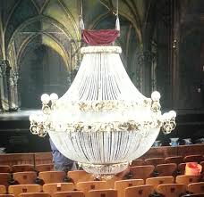 the chandelier from the phantom of the opera at the straz center photo