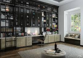 contemporary home office design. Bedroom Window Decor Home Office Contemporary With Organization Custom Designs Design