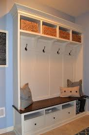 ikea billy bookcases with glass doors mudroom lockers mudroom lockers with bench plans