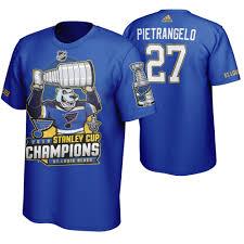 T-shirt Stanley Men's St Champions Louis Pietrangelo 2019 Mascot Cup Alex Blues Blue