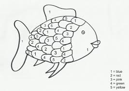 free coloring pages of rainbow fish fresh the throughout page