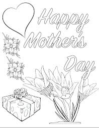 With this fun mother's day coloring page, your child will have not only a fun coloring project, but a beautiful card to give mom on the special day. Free Printable Mother S Day Coloring Pages 4 Designs