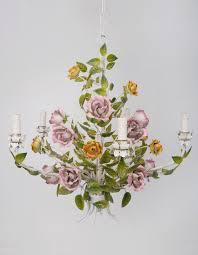 lighting agency pink rose chandelier lighting agency