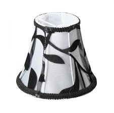 <b>Абажур</b> Орнамент ткань/ПЭ/черно-<b>белый</b> 15х8х13см Е14 60Вт ...