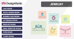 designer jewelry logo templates