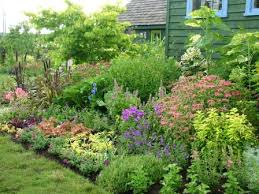 Small Picture cottage landscape designs cottage garden border cottage garden