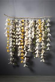 Hanging Paper Flower Backdrop Forever Flower Ceremony Backdrop Wedding Pinterest Paper