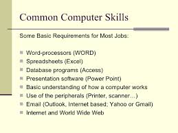 What Are Some Job Skills Job Searching 101 Skills Employers Look For