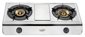 gas stove. Mika Gas Stove, Table Top, Stainless Steel, 2 Burner - Superbox Smart People Choose Online Stove