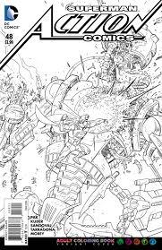 Dc Comics Arrivano Le Variant Cover Da Colorare Personalizzabili