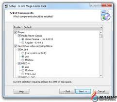 When your browser asks you what to do with the downloaded. K Lite Mega Codec Pack 13 6 5 Portable Free Download