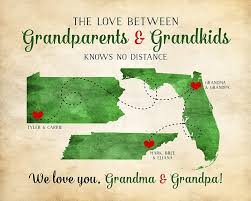 Grandkids Quotes Fascinating Grandparents Gift Grandma And Grandpa Quotes Long Distance Family