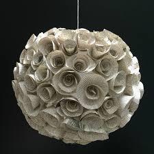 book paper flower hanging orb make one