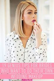 wedding makeup tips save money and be sure to get a look you love on your big day by doing your own makeup makeup artists matin maulawizada joanna schlip