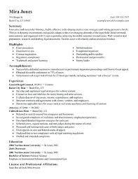 Cv And Cover Letter Samples Associate Attorney Cover Letter Sample