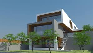 Modern House Plans Slope Inspirations With Sloping Pictures ...