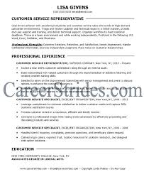 Customer Service Resume Words Customer Service Resume Examples