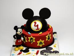 Mickey Mouse Birthday Cake In London