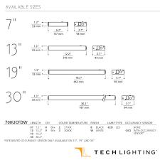 wire under cabinet lighting. Unilume LED Direct Wire Undercabinet Light | Tech Lighting MetropolitanDecor Under Cabinet L