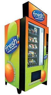 Healthy Vending Machine Companies Mesmerizing Company Puts Good Nutrition On Vending Machine 'Menu' San Diego