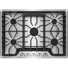 30 5 burner gas cooktop. Unique Gas Frigidaire Gallery 30 In Gas Cooktop In Stainless Steel With 5 Burners Intended Burner S