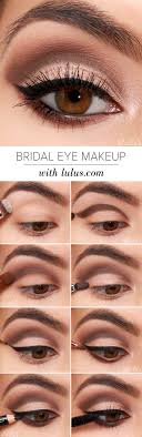 natural and easy cut crease hacks lulus hottest eye makeup trends for 2018 bridal eye makeup it s time to check out