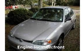 2000 Chevrolet Prizm Details & Features - YouTube