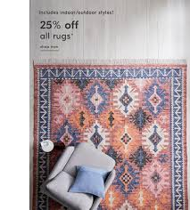 25 off all rugs