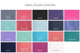 Monogrammed Comfort Colors Tank Saltwater Prep