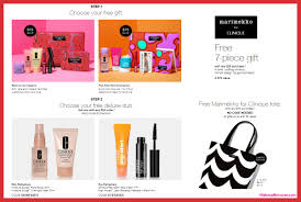 receive a free 10 pc gift with 75 clinique purchase