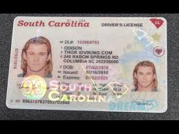 - 2019 License Drivers South Dream Carolina Ids New sc