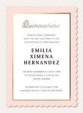 Invitations Quinceanera Quinceañera Invitations Simply To Impress